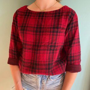 Red and Black Flannel from Madewell